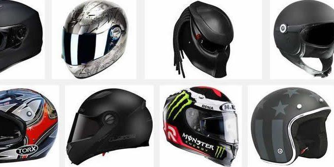 sélection de casque de moto