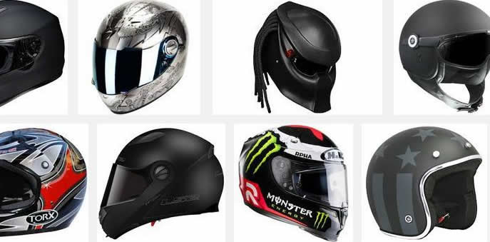 motorcycle helmet selection