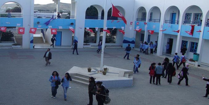 collégienne tunisienne