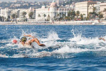 Triathlon lunettes piscine