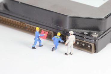 hard drive data