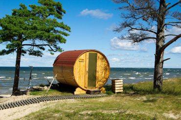 sauna bulle