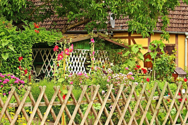 cloture de jardin