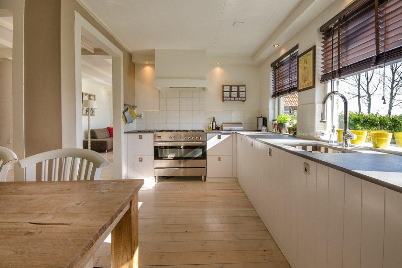 cocina elegante de aspecto moderno